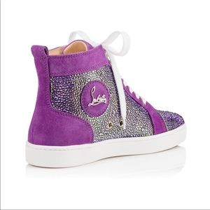 Christian Louboutins Louis Strass Crystal Sneaker